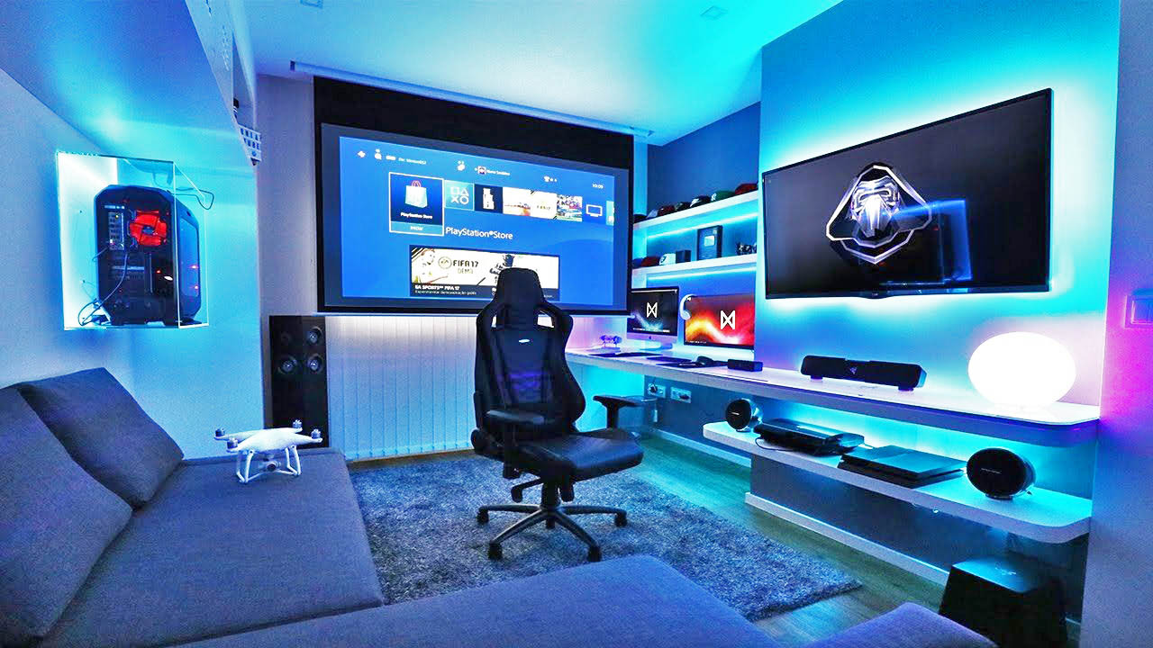 LED lights are something that can be installed fairly easily, and can make a room give off a great Star Wars effect.