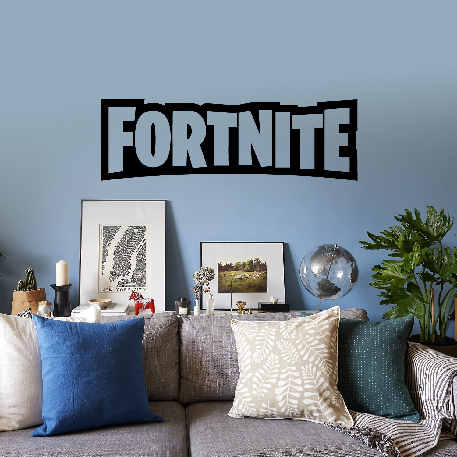 A contemporary style of Fortnite
